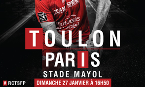 Image de l'actualité: TEAM INTERIM PARRAIN du match TOULON / PARIS
